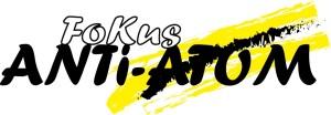 Logo Fokus Anti-Atom in hoher Auflösung 967x334px / 145kB