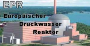 Der Europäische Druckwasserreaktor EPR ist in Olkiluoto (SF) und Flamaville (F) im Bau